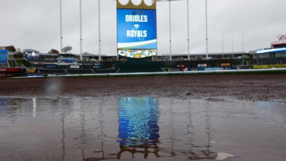 Video - ALCS Game 3 Postponed