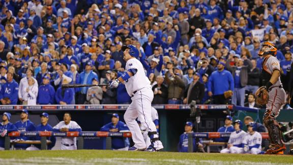 Video - Royals Edge Orioles To Take 3-0 Lead