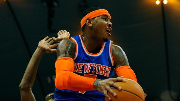 Video - Carmelo Leads Knicks Past 76ers