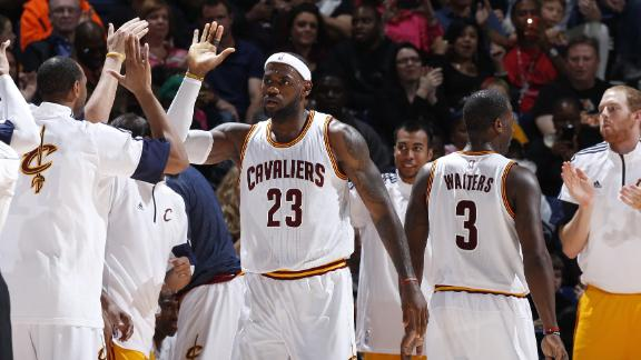 Video - LeBron Carries Cavs Over Pacers