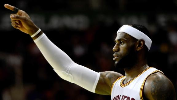 LeBron Denies Picking New Teammate