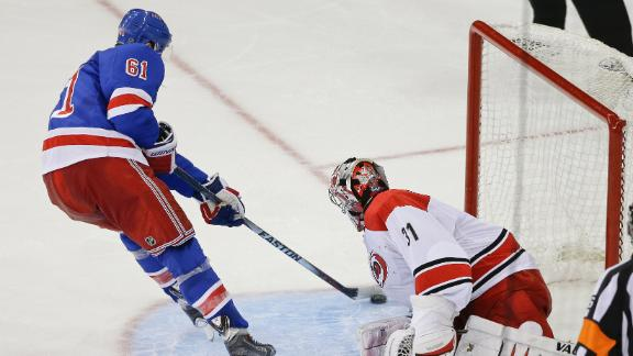 Rangers Top Hurricanes For Shootout Win