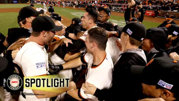 Video - Ishikawa's Walk-Off HR Sends Giants To World Series