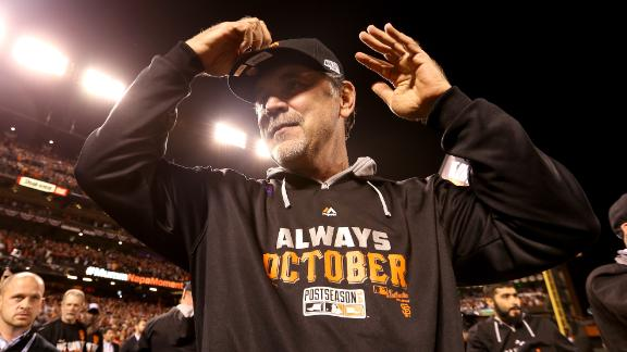 Video - Bochy Talks NLCS Win
