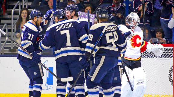 Video - Blue Jackets Hold Off Flames