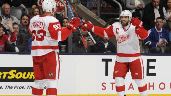 Video - Red Wings Crush Maple Leafs