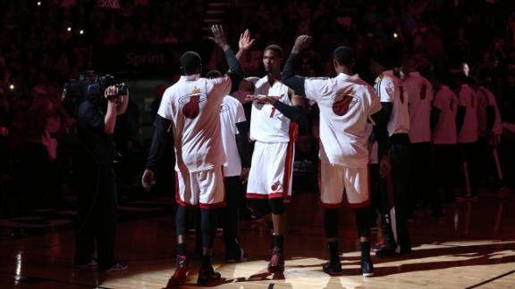 Heat Get First Preseason Win