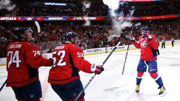 Video - Capitals Edge Panthers In Shootout