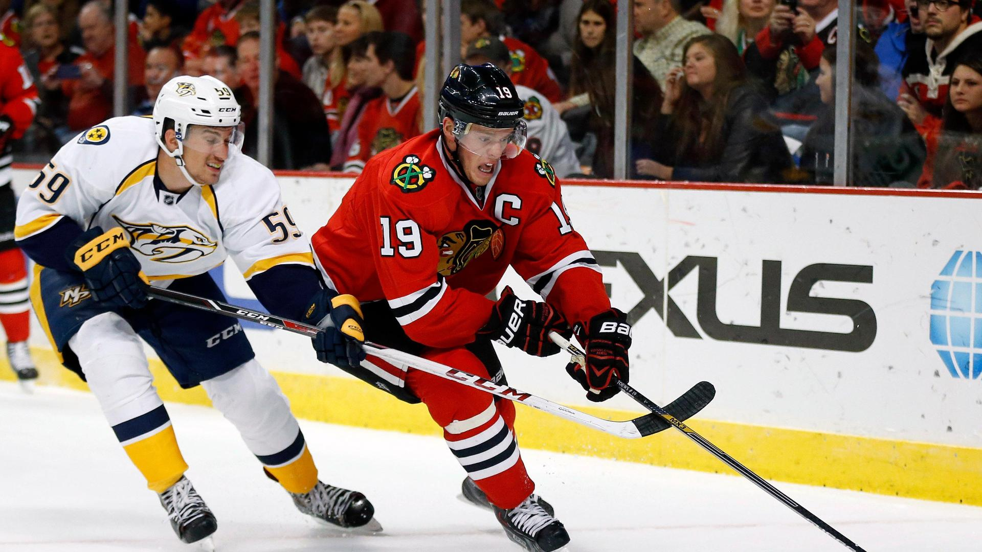 Video - Blackhawks Sneak Past Predators I
