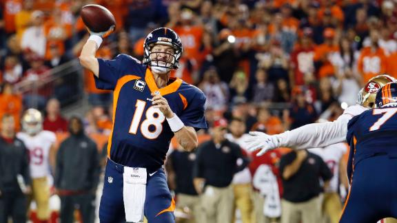 Manning Breaks Favre's All-Time TD Record