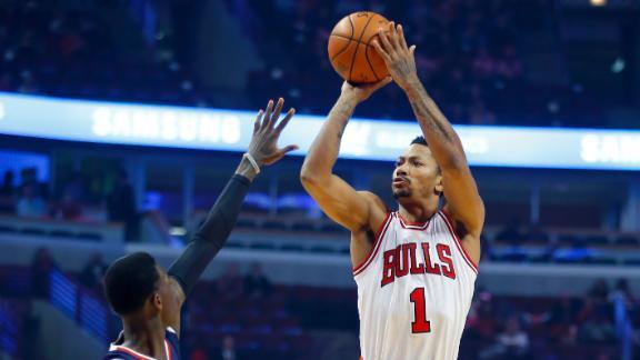 Rose, Bulls Stop Hornets