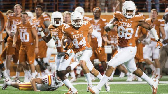 Texas Edges Iowa State 48-45