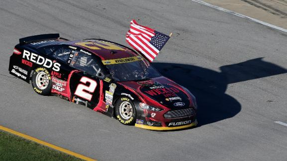 Keselowski Advances with Win