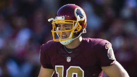 Colt McCoy Named Redskins' Starting QB