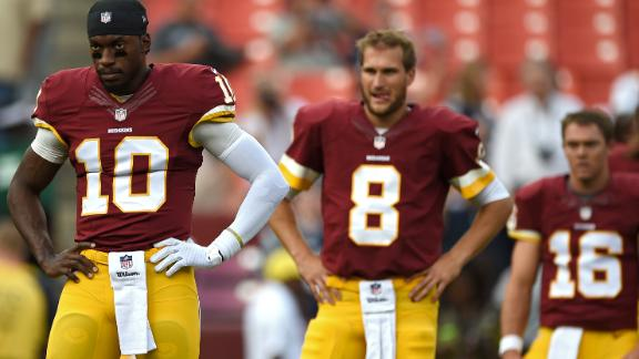 Quarterback A Question Mark For Redskins