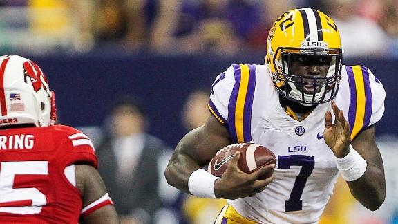 Can LSU Establish Run Against Ole Miss?