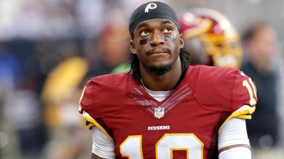 RG III: 'Listening, learning' during recovery