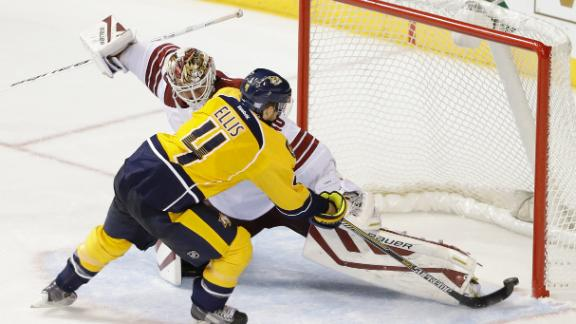Video - Predators Claw Past Coyotes