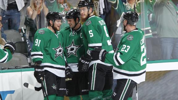 Video - Stars Double Up Canucks