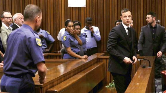 Muted Reaction As Pistorius Sentenced To Prison