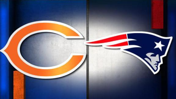 NFL Live Prediction: Bears-Patriots