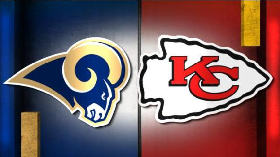NFL Live Prediction: Rams-Chiefs