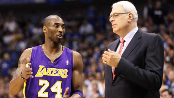 Video - Phil Jackson Supports Kobe On Twitter