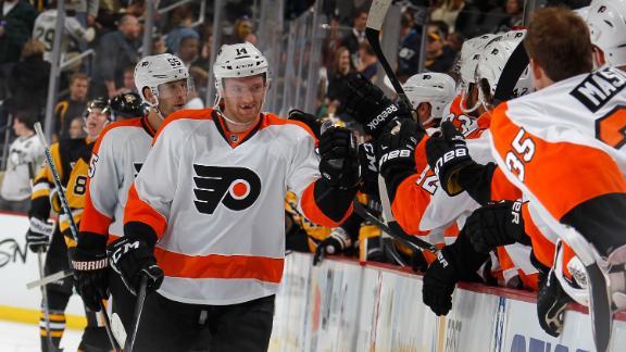Flyers Dispatch Rival Penguins