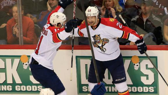 Panthers Skate Past Avs