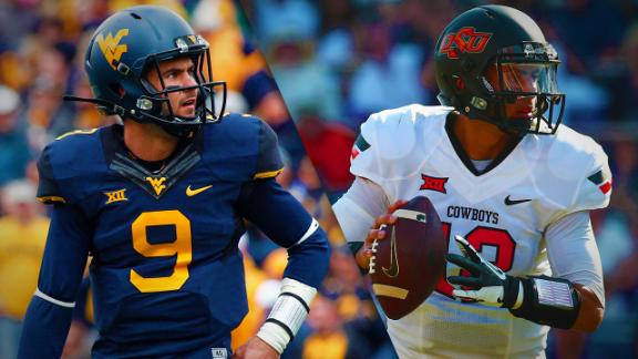 West Virginia at Oklahoma St. Preview