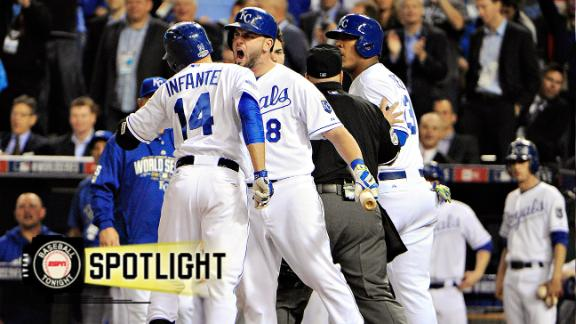 Royals Roar Past Giants To Even World Series