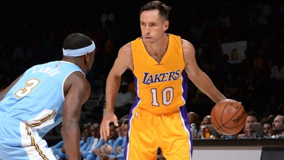 Lakers look to move forward without Nash