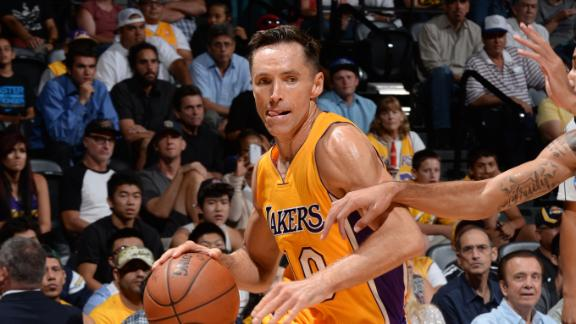 Steve Nash To Miss Entire Season