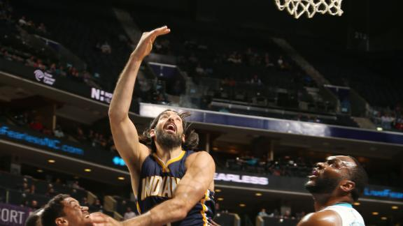 Pacers Push Past Hornets