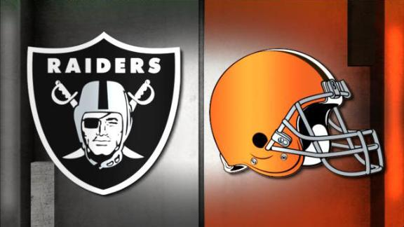 Video - NFL Live Prediction: Raiders-Browns