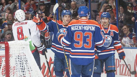 Oilers Hand Caps First Regulation Loss