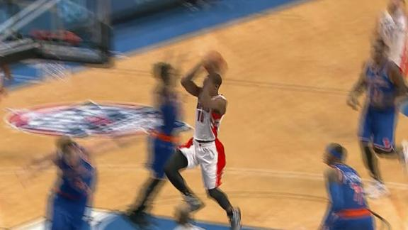 DeRozan's Double-Pump Dunk