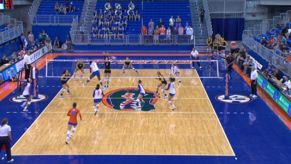 Gators sweep Tigers, 3-0