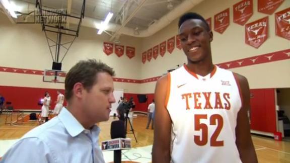 Texas FR Turner Has Eyes On Prize