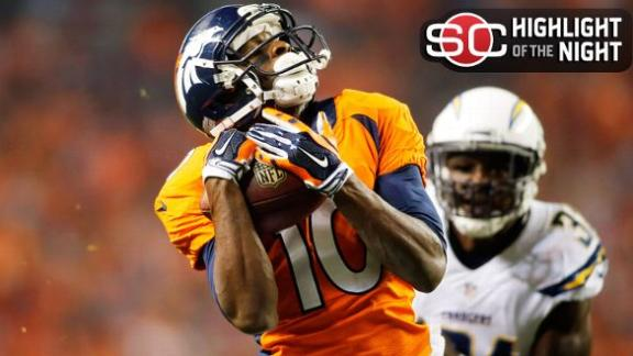 Broncos Cruise Past Chargers