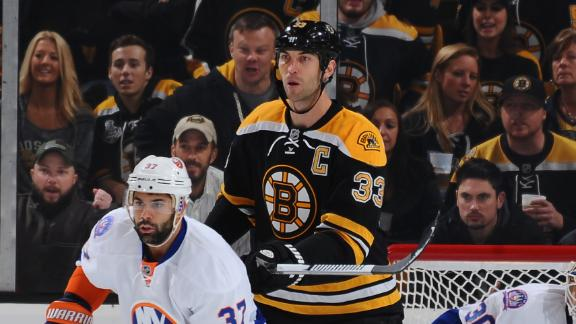 Chara Injured As Islanders Win In Boychuk's Return To Boston