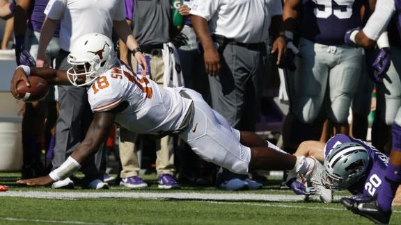 Texas Defeated by No.11 Kansas State