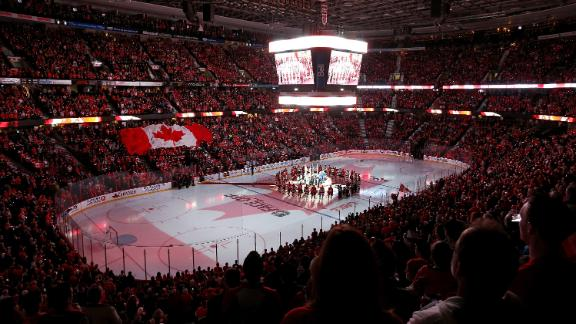 Devils Beat Senators As Both Teams Honor Soldiers