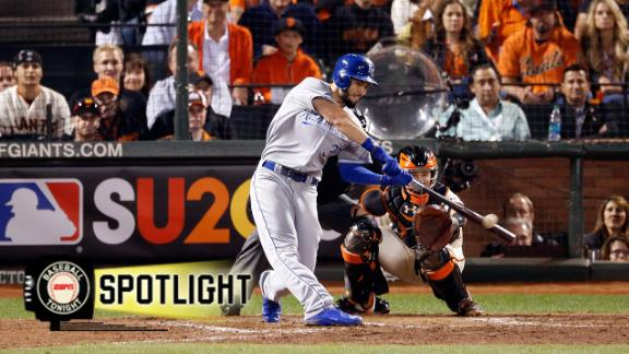 Royals Edge Giants To Take Series Lead