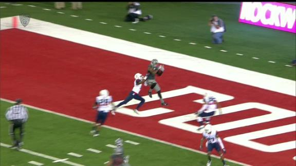 4Q WSU C. Halliday pass,to V. Mayle for 8 yds for a TD, (Q. Breshears KICK)