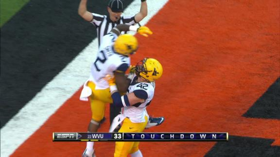 4Q WVU D. Smith run for 40 yds for a TD