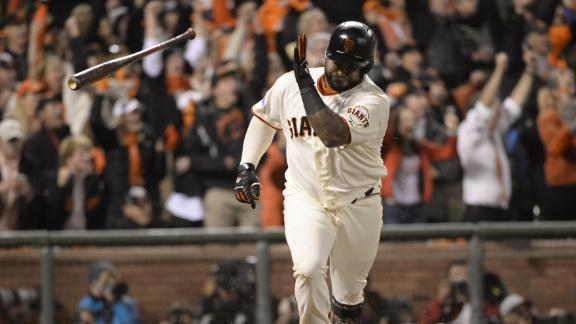Sandoval Secures Giants Lead With Two-Run Single