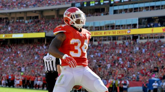 Chiefs' Patience With Knile Davis Pays Off