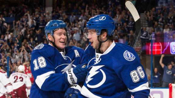 Video - Kucherov Scores Hat Trick In Lightning Win