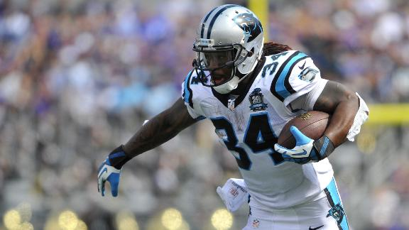 Fantasy Now: Panthers' Backfield